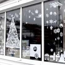 Новогоднее оформление магазинов, в Москве