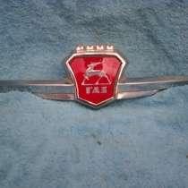 Эмблема на капот Газ-21 3-серии, в г.Ашхабад