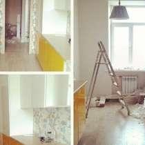 Ремонт квартир комнат. Кухонь коридоров. Ванна под ключ, в Москве