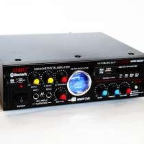 Усилитель звука UKC AV-339BT + USB + КАРАОКЕ 2 микрофона, в г.Киев