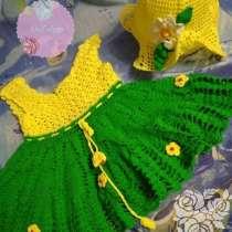 Платье и шляпка для девочки, в г.Кривой Рог