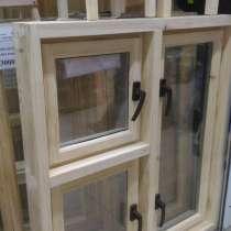 Окна из дерева для дачи и бани готовые, заказ с уплотнителем, в Новосибирске