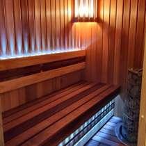Внутренняя отделка бани под ключ, в Санкт-Петербурге