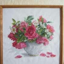 Картина Цветущий сад. Розы и ромашки, в Галенках
