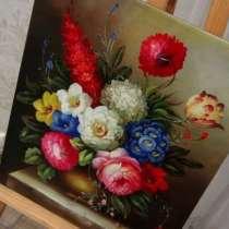 Цветочная Фантазия II, 50х60см, картина маслом, в Москве