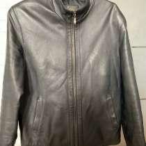 Кожаная мужская куртка 50-52, в Москве