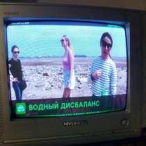 """Телевизор Хундай диаметр 14"""", в Омске"""