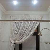 Двойные карнизы в ванную комнату из нержавеющей стали, в Краснодаре