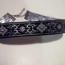 Чокер для ценителей прекрасного черно-серебристый, в г.Киев