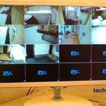 Установка систем видеонаблюдения, видеодомофонов, СКУД, в Москве