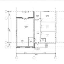 Дом 105 метров серый ключ уч. 10 соток в собственности, в Калининграде
