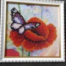 Бабочка на цветочке, в г.Донецк