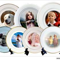 Печать фото, рисунков и логотипов на тарелках, в Краснодаре