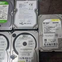 HDD от 550р 2TB, 1.5TB, 750GB, 250GB, 200GB, в Москве