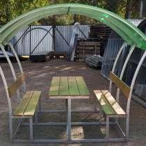 Новые садовые беседки со столиком и лавкой, в Липецке