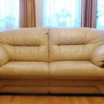 Продам элитный кожаный диван-кровать Лестер Британика, в Красногорске