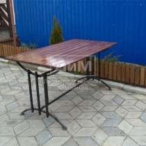 Продаю столы из металла и дерева для сада, дачи, в Симферополе