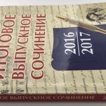 Итоговое выпускное сочинение 2016/2017. Амелина Е. В, в Москве