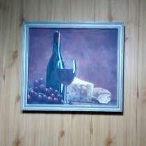 Картина маслом, двп, размер 47×53, в г.Ташкент