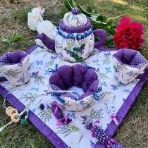 Чайная церемония. Текстильный набор, в Гатчине