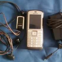 Телефон Nokia 6070, зу, гарнитура, чехол, в Новосибирске