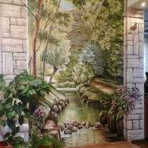 Рисую на стенах. Пейзажи и другое, в Омске