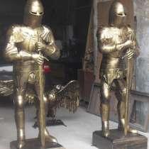 Два рыцаря из металла, в Краснодаре