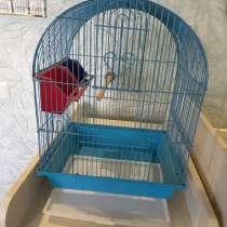 Продаю клетку для попугайчиков с домиком для гнездования, в Подольске