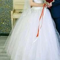 Свадебное платье 42-44, в Новокузнецке