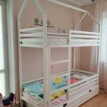 Детские кроватки из дерева на заказ!, в г.Алматы