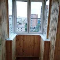 Обшивка балкона и лоджии панелями пвх и вагонкой, в г.Минск