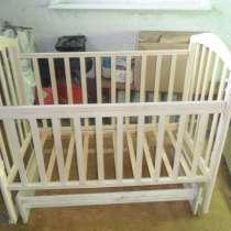 Детская кроватка с комплектом принадлежностей, в Каменске-Уральском