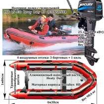 Надувная лодка с подвесным двигателем, в Братске