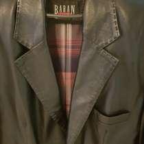 Куртка- пиджак мужской кожаный, в Краснодаре
