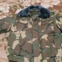 Мужская куртка с воротником из натуральной цигейки р. 52/3, в г.Минск