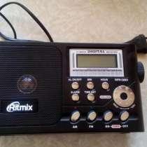 Цифровой Радиоприёмник RitmiX RPR - 1380, в Москве