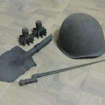 Экспозиция на тему Великой Отечественной войны, в г.Павлодар