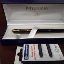 Перьевая ручка Waterman (Франция -- оригинал), в Дмитрове