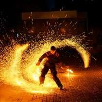 Огненное шоу на выпускной, в Новокузнецке