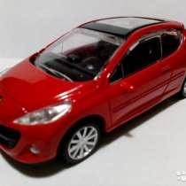 Машинка Rastar Peugeot 207 1:43 красная, в Саратове