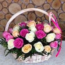 Композиции и корзины с цветами, в Нижнем Новгороде