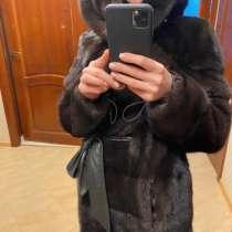 Норковая шуба, в Видном