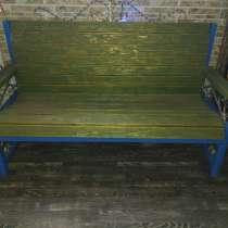 Скамейка с подлокотниками, в Челябинске