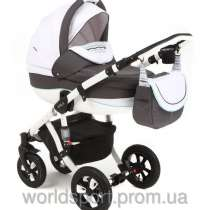Детскую коляску купить Tako ACOUSTIC 04 светло-серый (лён), в г.Запорожье