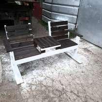 Скамейка со столиком, в Уфе