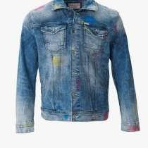 Куртка джинсовая мужская, в Москве