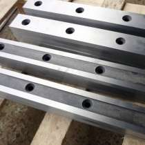 Нож гильотинный для ножниц Н478А размер ножа 1080 140 35мм, в г.Минск