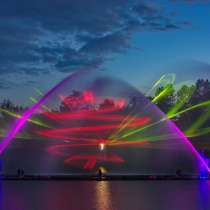 Поющие фонтаны в Виннице, в г.Киев