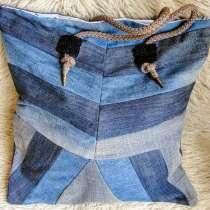 сумка из джинсовых лоскутков, в г.Иерусалим