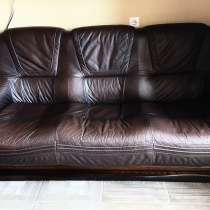 Мягкая мебель с натуральной кожи, в Ейске